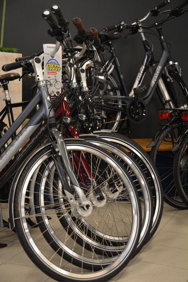 Voorwielen Gazelle fietsen